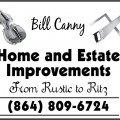 Bill Canny Home and Estate Improvements
