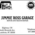 Jimmie Ross Garage