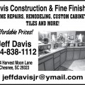 Davis Construction & Fine Finishes