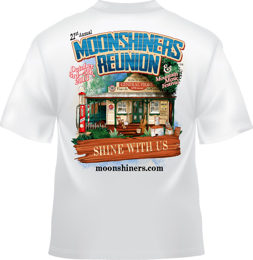 2013 Moonshiners Reunion T-Shirt