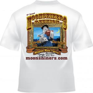 Moonshiners Reunion 2008 - Barney with Fiddle & George