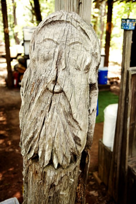One of Barney's Tree Spirits