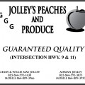 Jolley's Peaches and Produce
