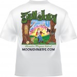 Plum Hollow 2011 - Barney & Fiddle on Tree Stump